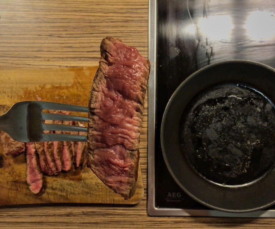 Perfect and easy way to cook rare steak? Try cooking it in oven
