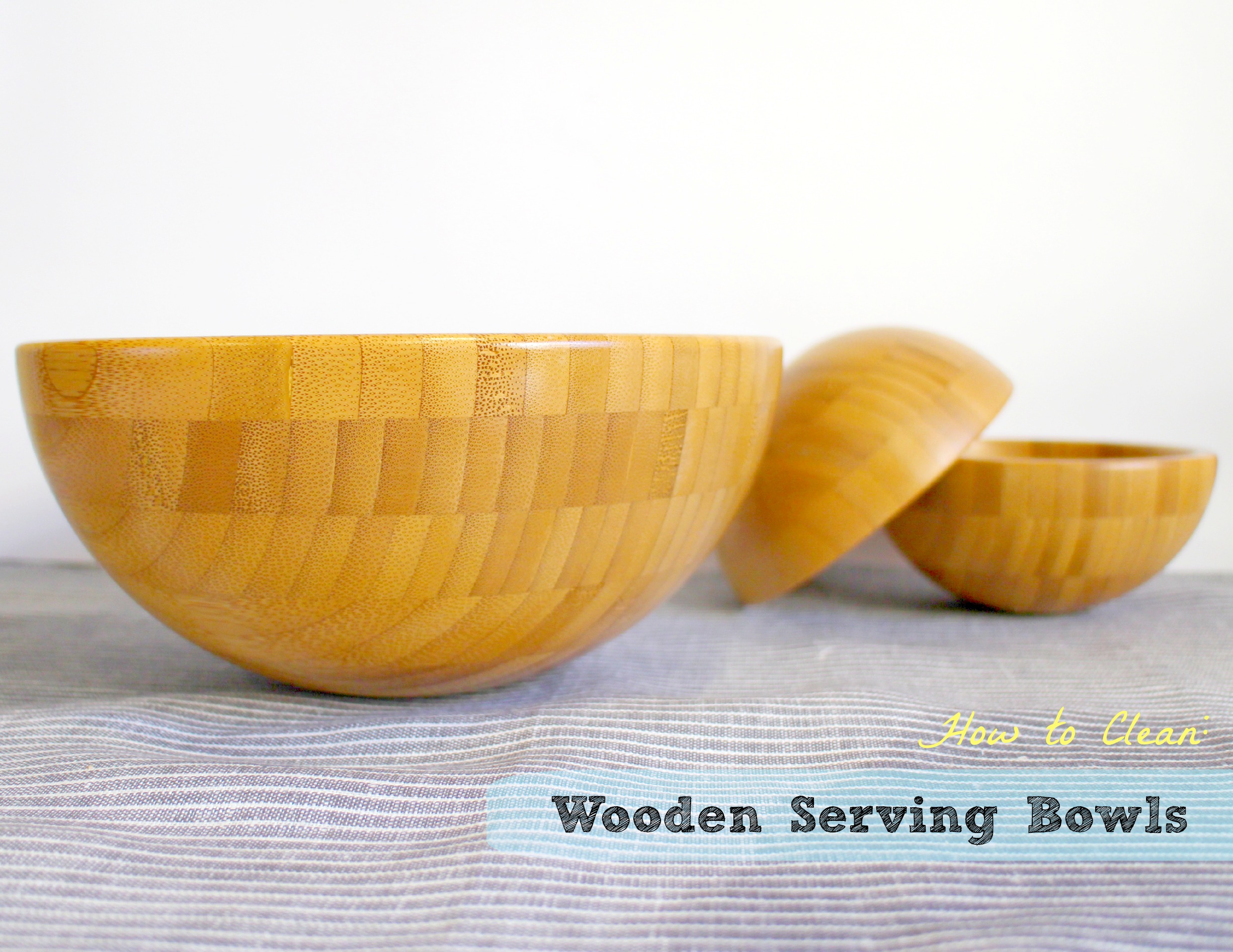 How To Clean Wooden Serving Bowls 6 Steps With Pictures Instructables