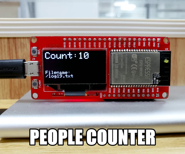 People Counting With ESP32