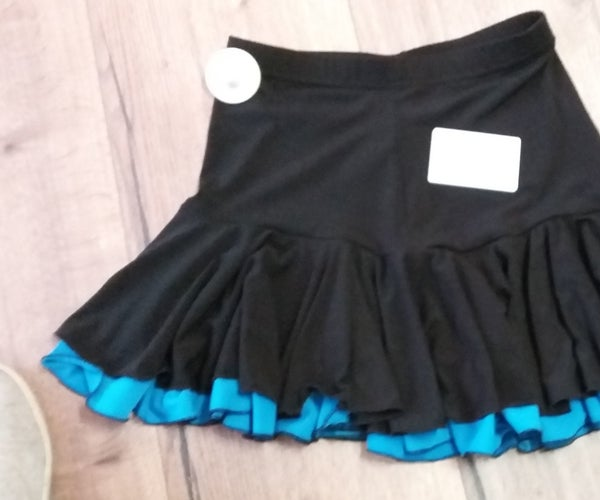 How to Make a Two-layer Latin Dance Skirt