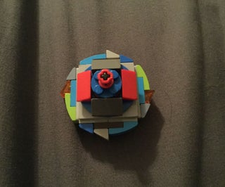How to Make a Lego Beyblade Version 2.0