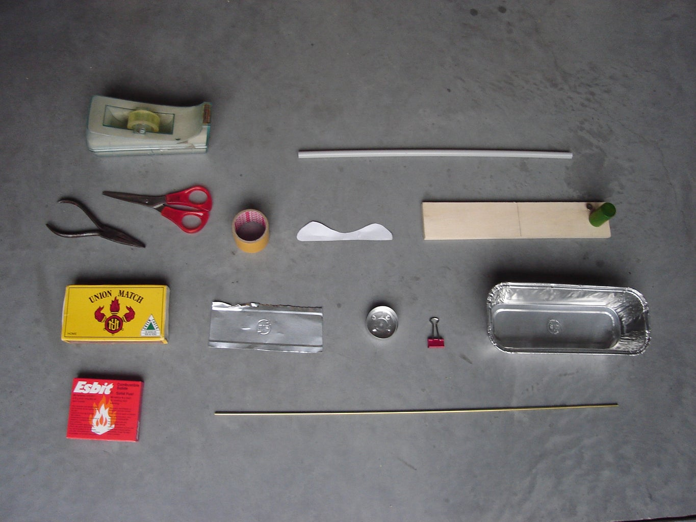 Materials and Tools to Make Yourself