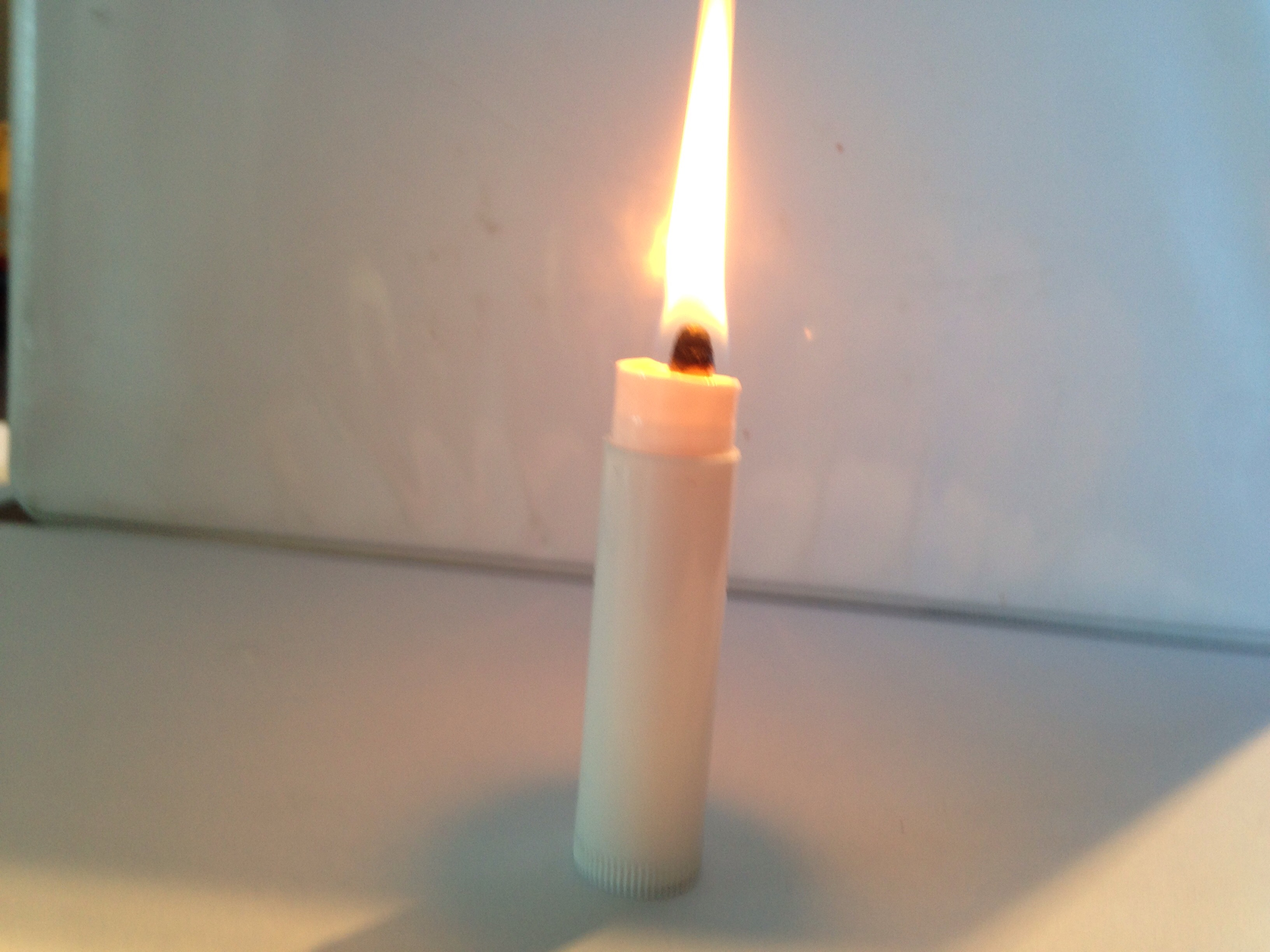 Chapstick Candle