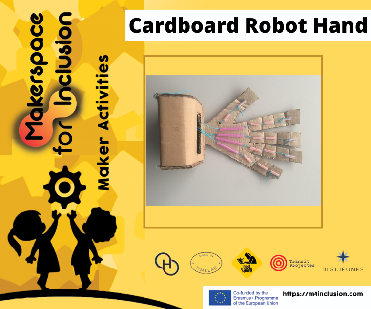 How to Build a Cardboard Robot Hand