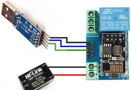 WiFi Relay Outlet-DIY
