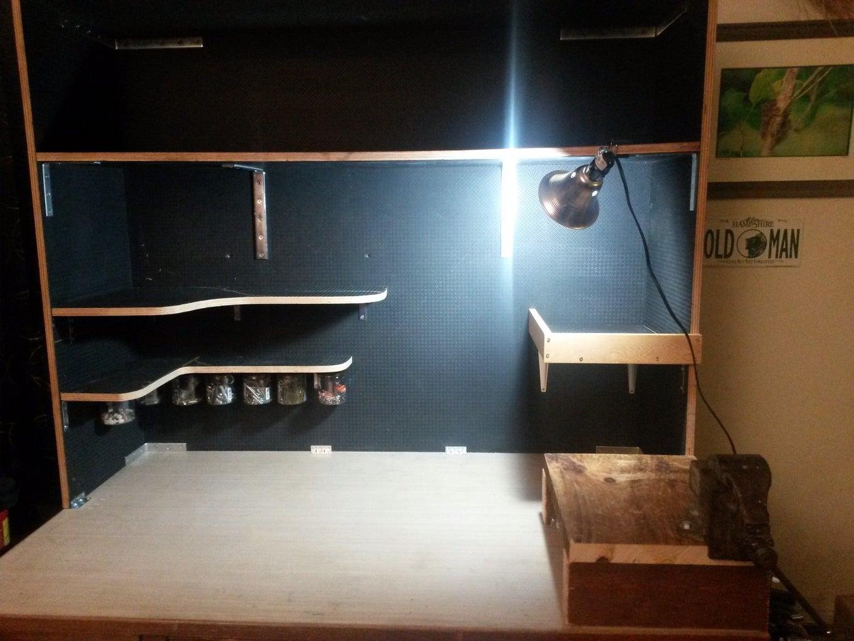 A:    Basic Shell and Shelves   1