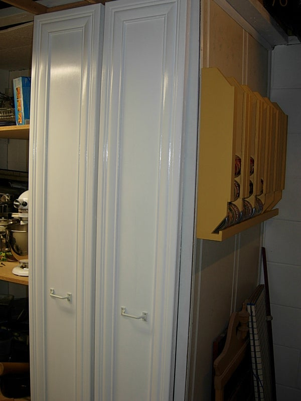Making a Roll Out Storage Cabinet.