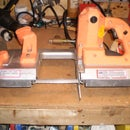 How to repair the drive wheels on a Chicago electric portable band saw