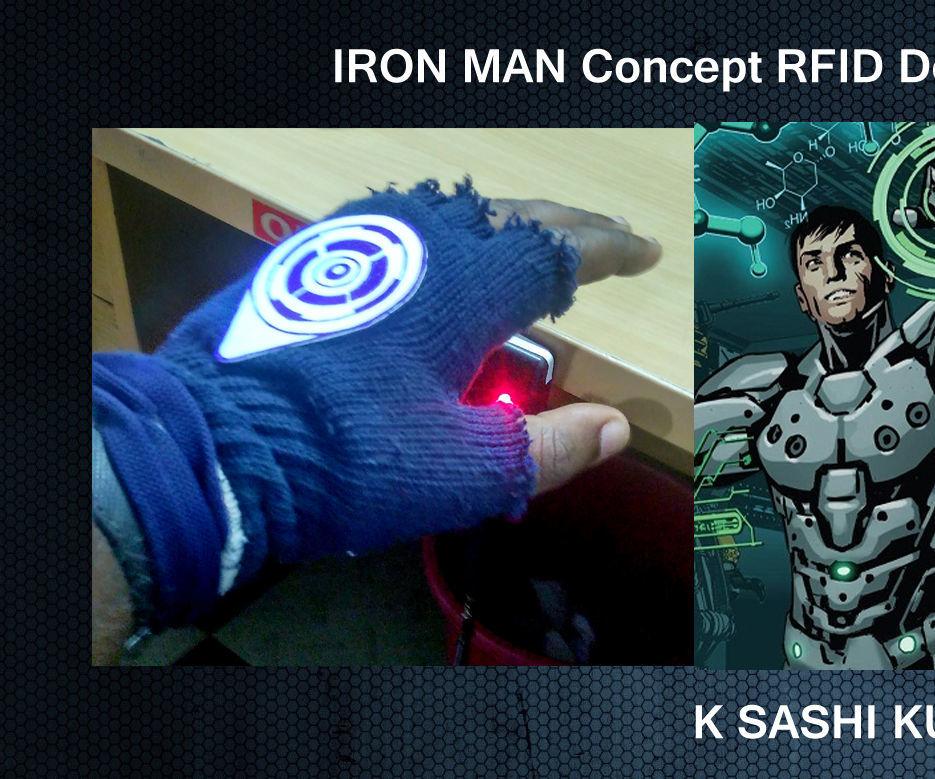 IRON MAN Concept RFID Door Access