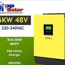 Using the Inverter -MPP HV2-5048 (no Battery Required)