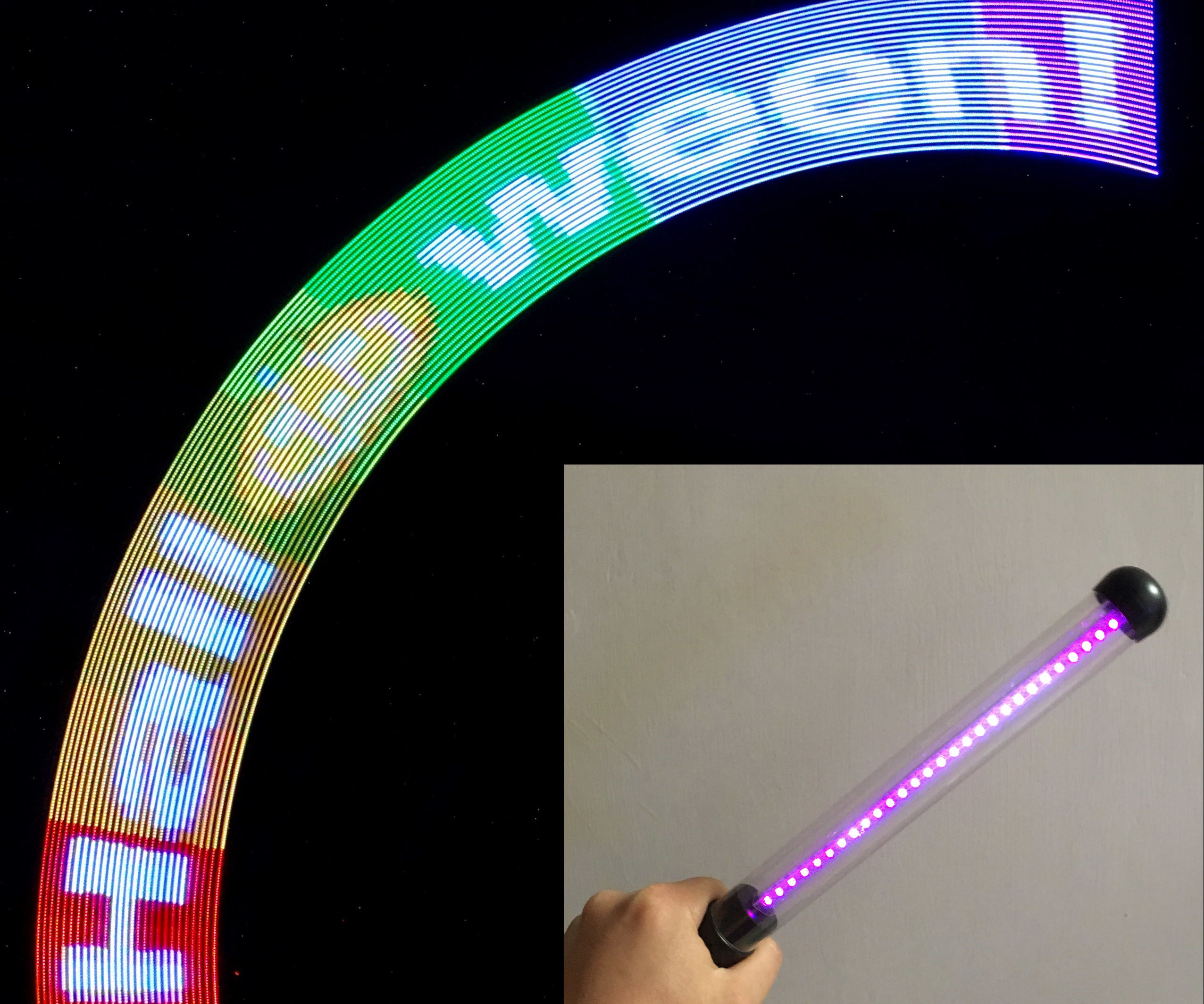 IoT LED Cheering Stick