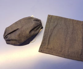 DIY Cloth Face Mask (Simple, No Pleat Design)