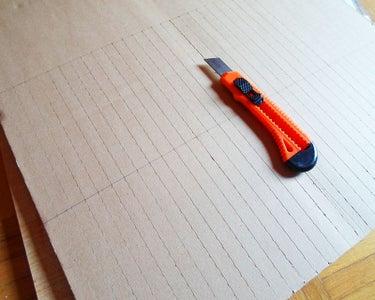 Cut the Cardboard Strips