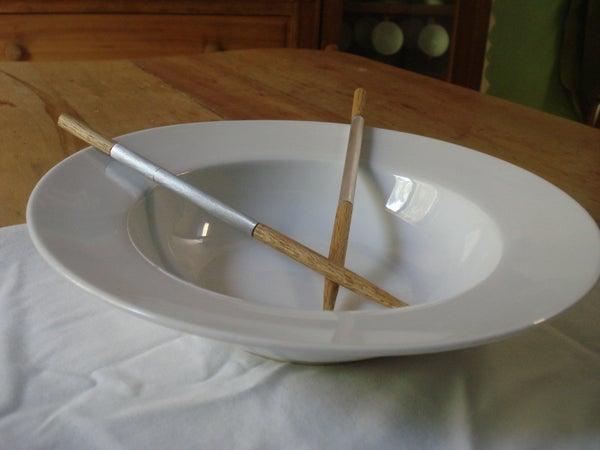 Stylish Chopsticks With Toothpick Storage