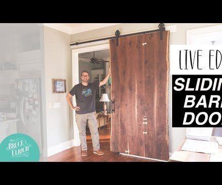 Live Edge Sliding Barn Door