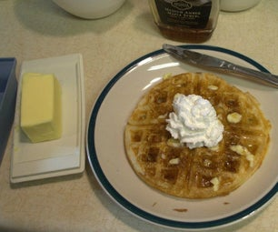 Sour Dough Waffle Hack (20 Minutes on Saturday 2 Minute Toaster Waffles All Week)