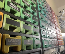 Parts Rainbow: the Ultimate Harbor Freight Organizer