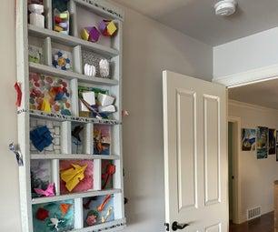 Origami Display Shelf