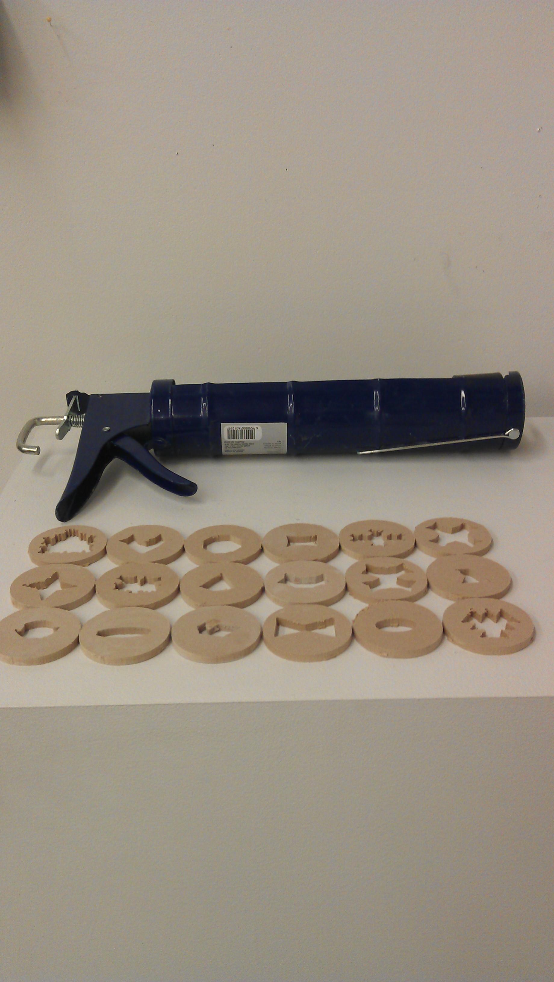 Clay Extruder Gun for Under $15 with CNC Milled Dies!