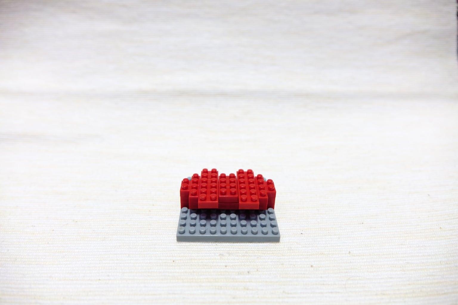 Red Block 2*2 Corner, 2*2 Corner