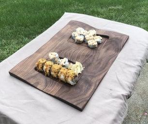 CNC WAVE Sushi Board