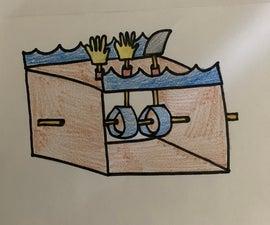 Shark Attack Automata- Zoe Baumann