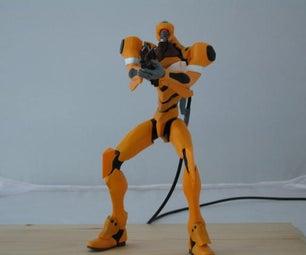 Evangelion Unit00: Airbrushed Model