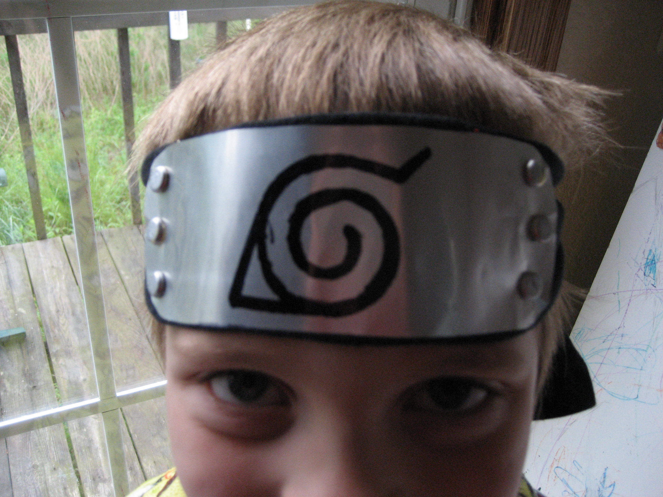 How to Make a Naruto Style Headband