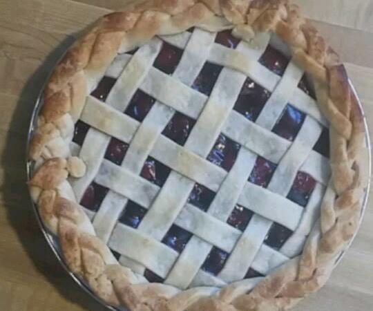 Four Fruit Pies