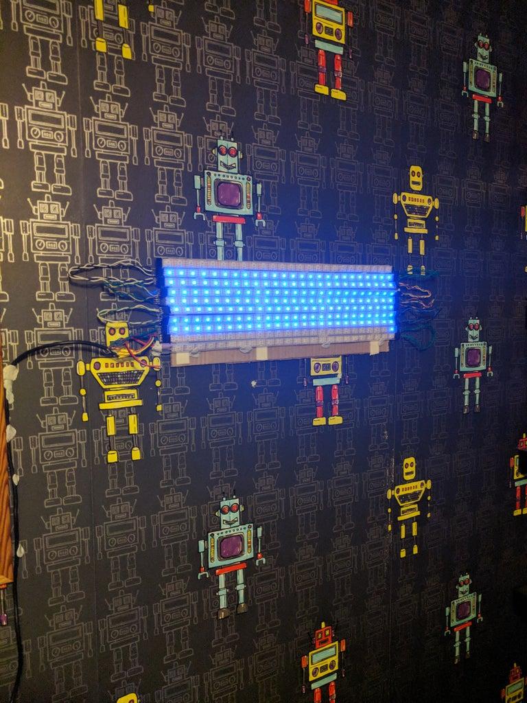 LED Audio Visual Display