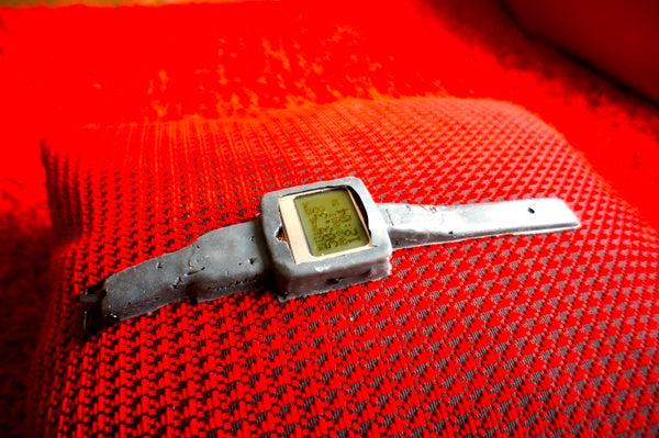 Arduino Watch With Nokia 3110 Screen