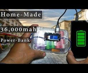 How to Make a 36,000 Mah Powerbank ?