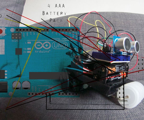 How to Build Obstacle Avoiding Robot for Beginners With Arduino Tutorial