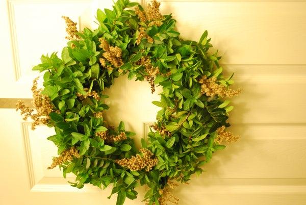 Fragrant Mint Wreath