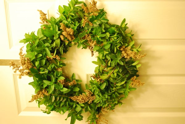 Fragrant Mint Wreath