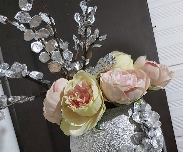 Como Darle Brillo A Hojas Secas Y Crear联合国Hermoso Arreglo Floral