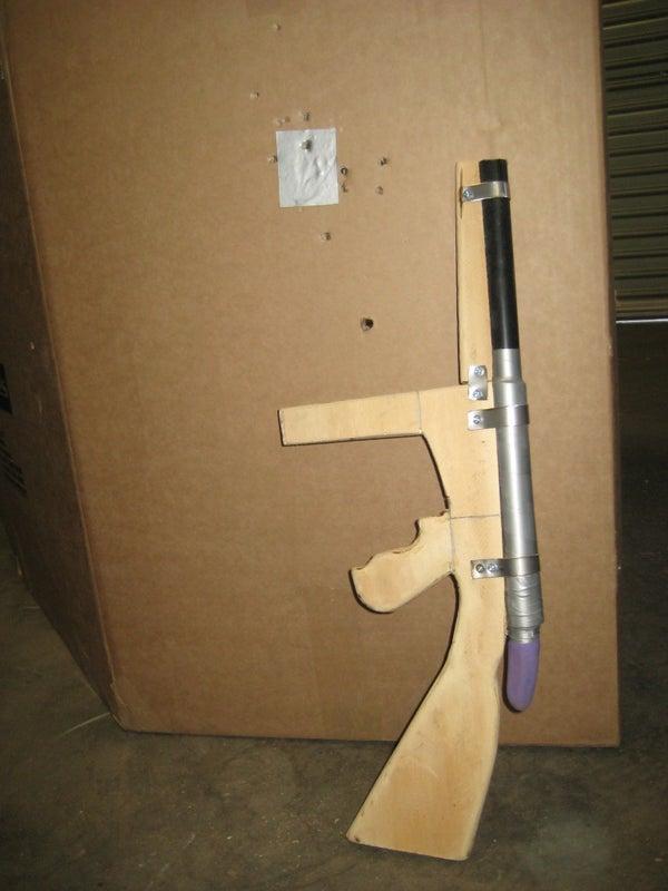 Toy Ingram M6 - Glove Gun #2