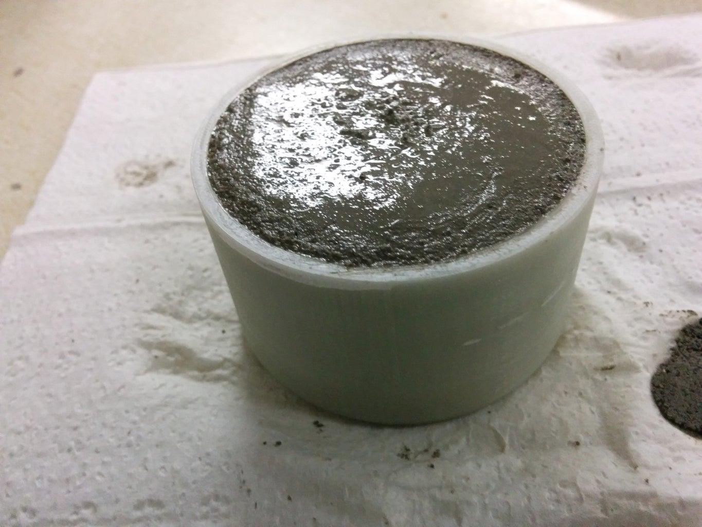 Mold Release and Poring