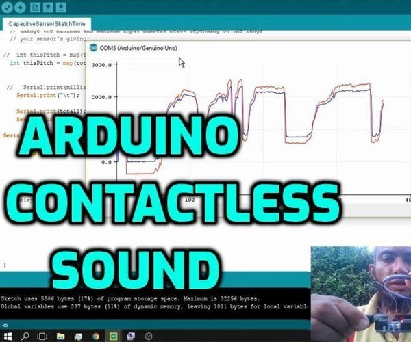 How to Make Arduino Theremin - Control Arduino With Proximity and Touch