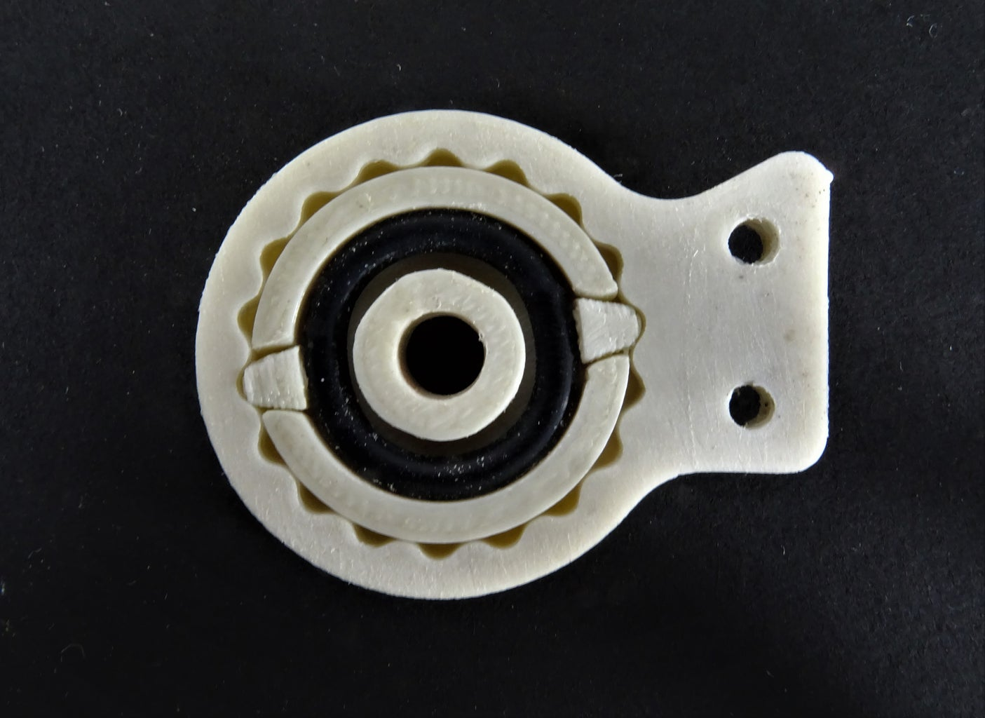Assembling the Gear Mechanism