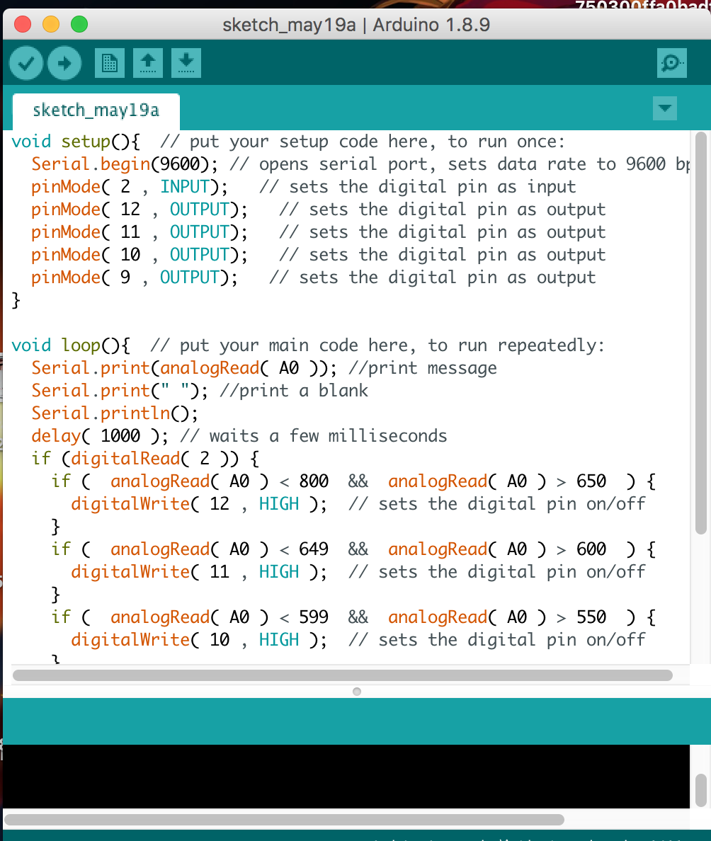 撰寫程式碼