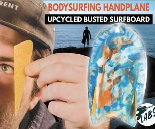 升级身体冲浪手刨花板成型和纤维激光