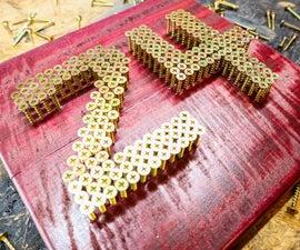"""Screw"" 24 Kobe Bryant - Number DIY Project"