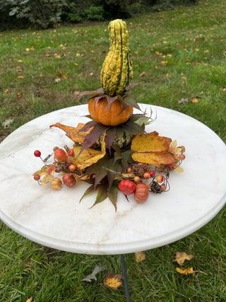 Make Festive Gourd Trees