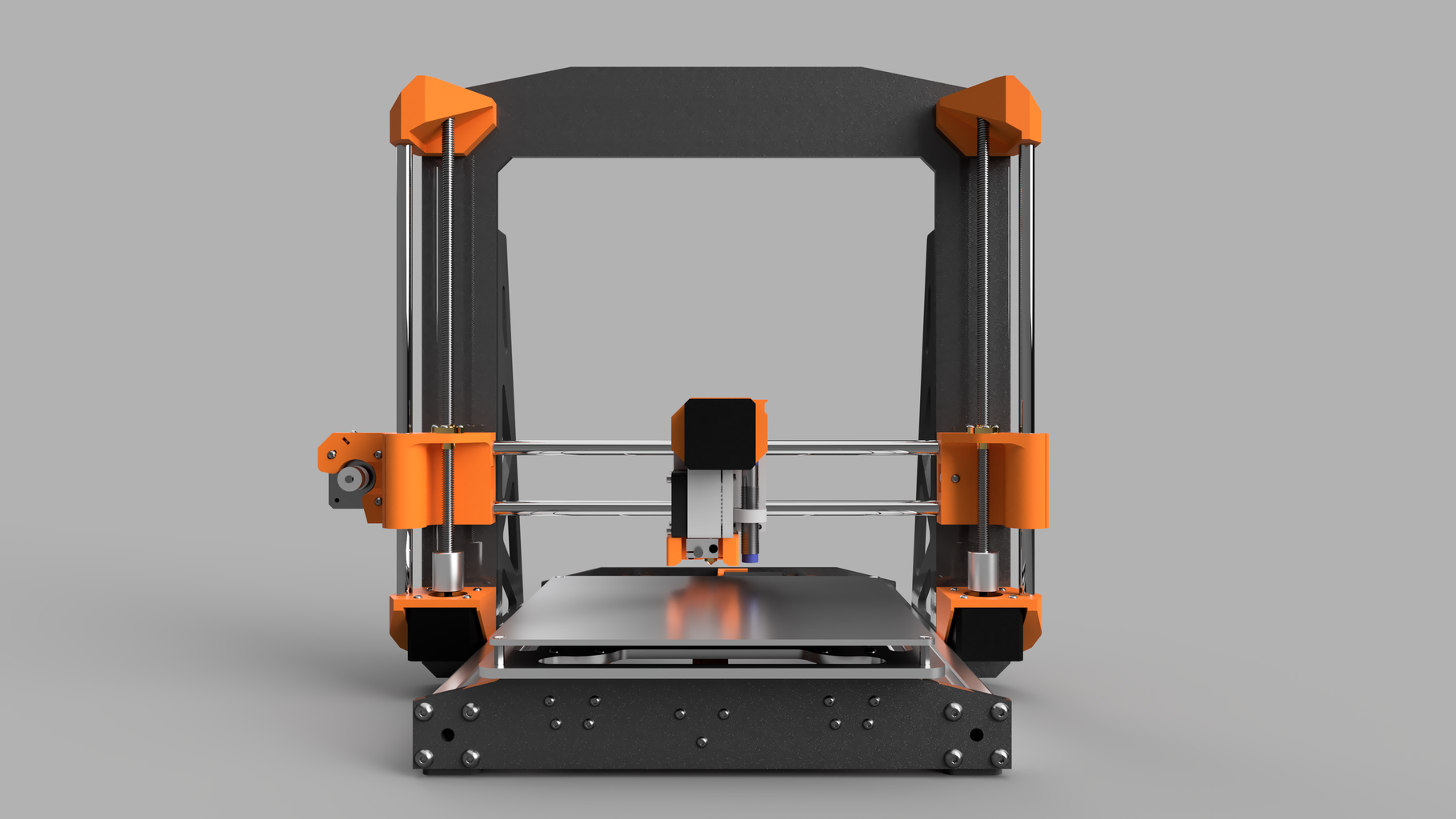 FlukeyFabricator: DIY Silent 3D Printer