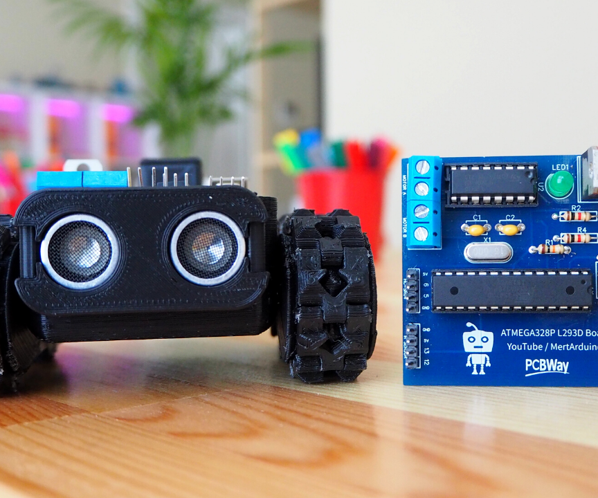 Make at Least 5 Robot Projects With One Board!