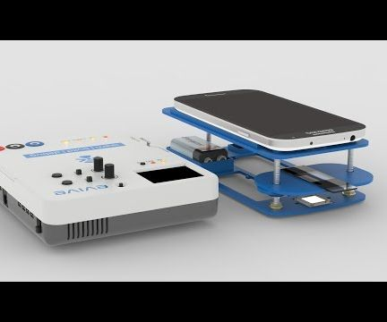 DIY Mobile Microscope made using evive