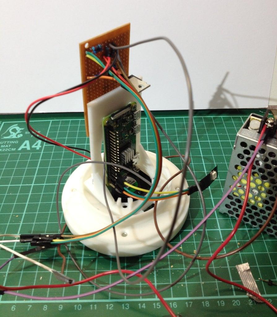 Assembly Raspberry Pi & Fan