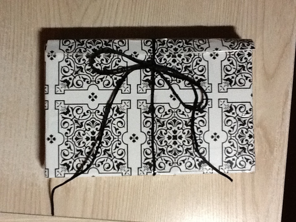 Cardboard pencil case