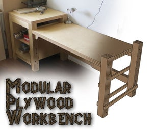 模块化胶合板工作台